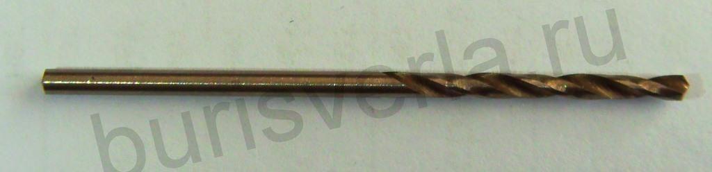 Сверло по металлу 2,5 мм, Р6М5